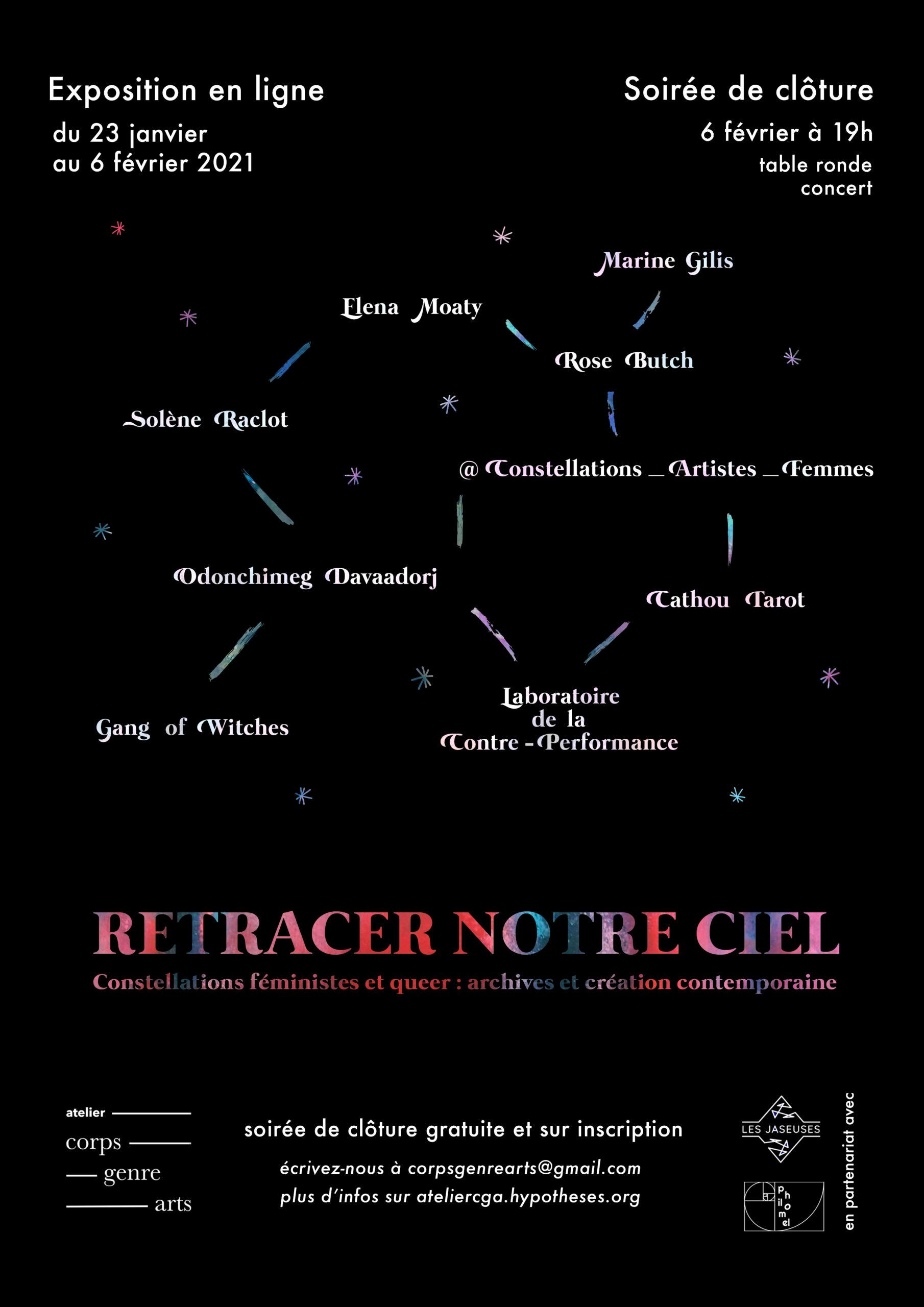 Retracer notre ciel - Constellations créatrices - Archives et création contemporaine