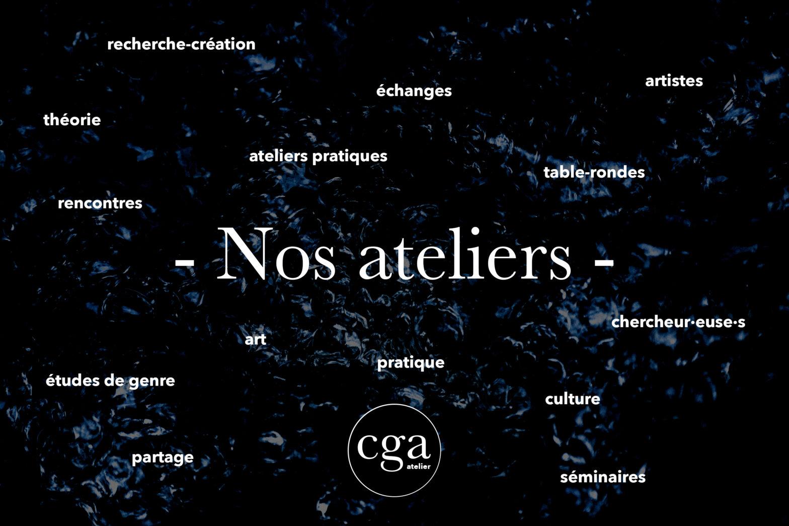 Nos atliers